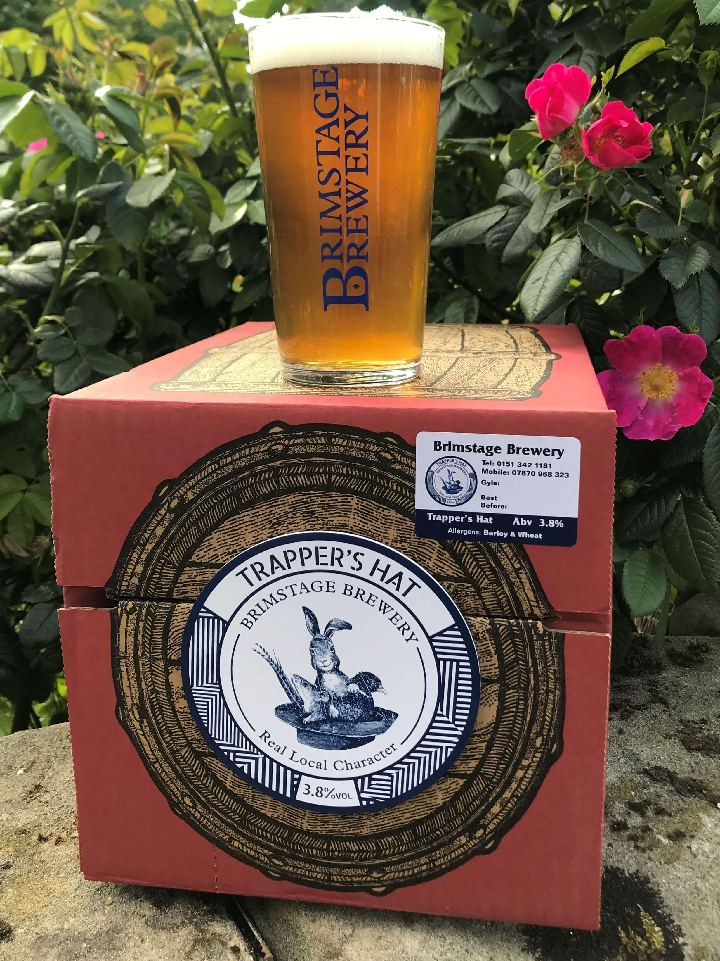 Trapper's Hat 10 LITRE Beer Box