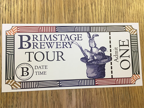 SOLD OUT!! Brewery Tour Voucher- Saturday 18th April 2020